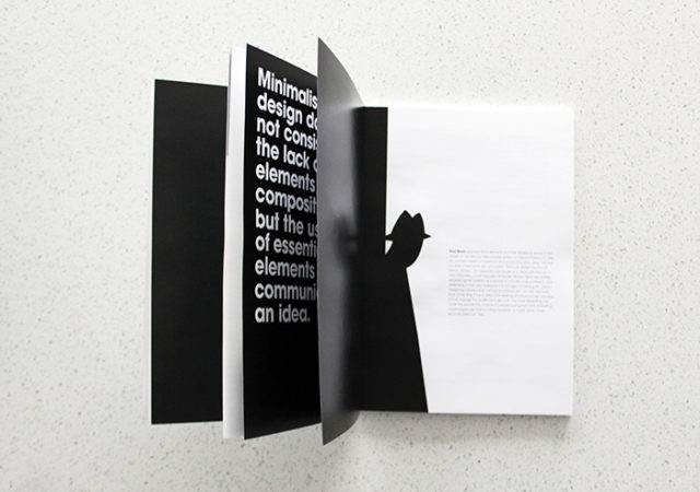Minimalist Design Book
